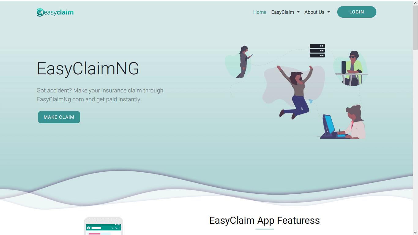 EasyClaim Website